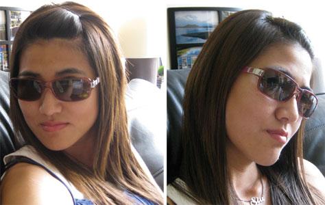 Pantone Sunglasses with clashing arms