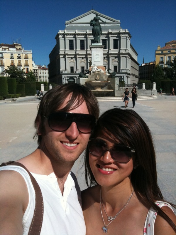 sight seeing around Madrid