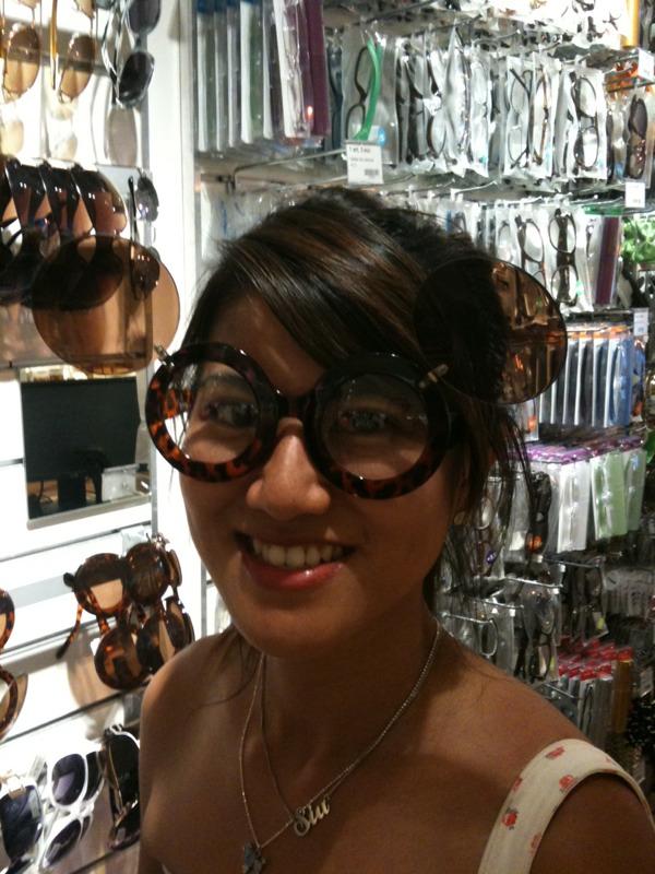 Sunglasses in Tiger