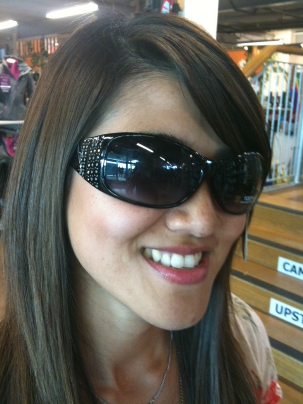 skiing eyewear style