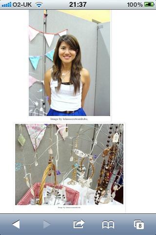 Being featured in a blog-lola secret wardrobe