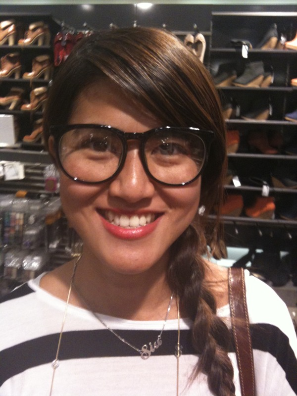 Geek Chic Styles glasses at H&M
