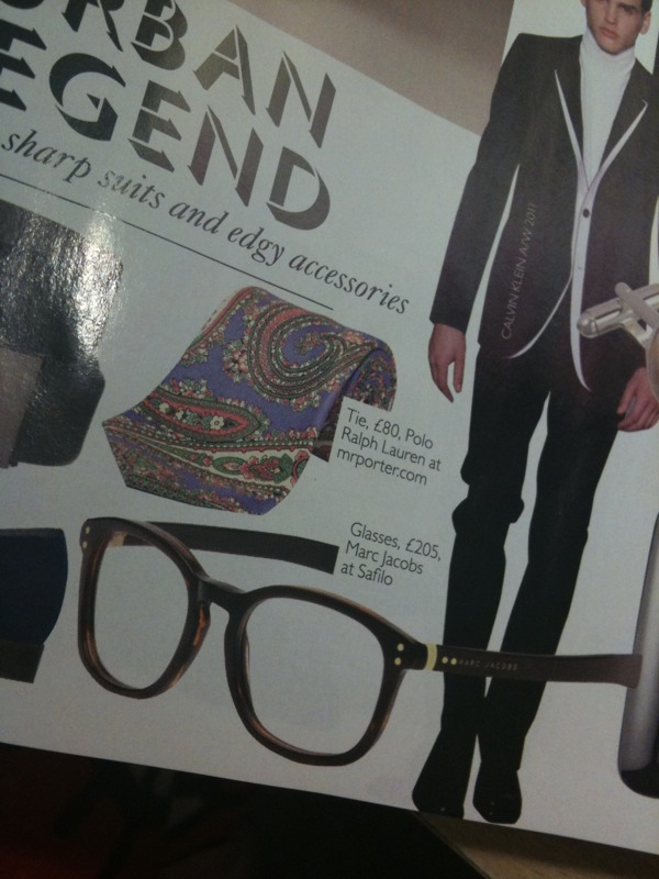 Glasses as seen in Brides Magazine