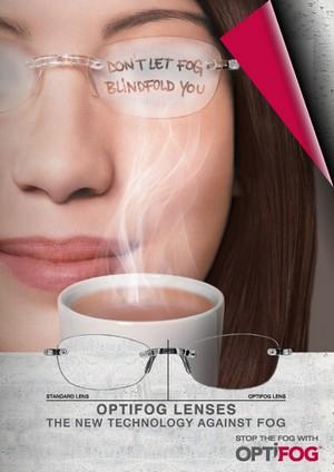 Optifog lenses- anti fog lenses