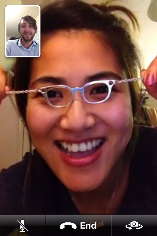 Funny FaceTime Photo