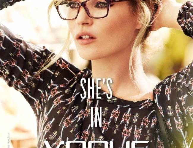 Kate Moss Vogue eyewear 2012