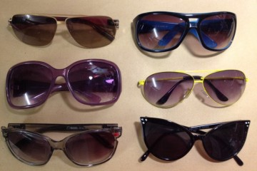 My selection of sunnies