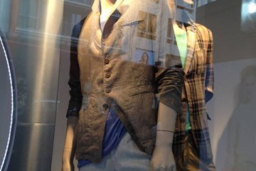 Zara Male window Display