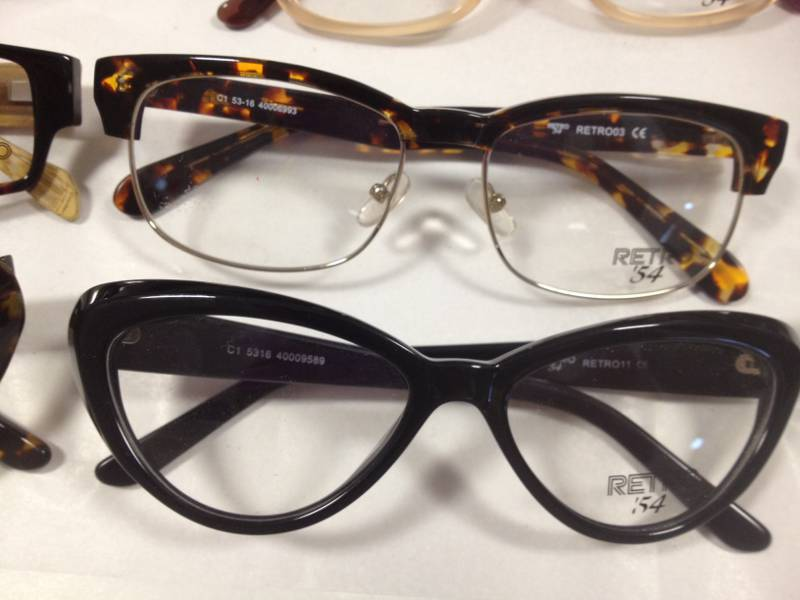 Retro eyewear at Boudoir PR
