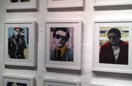 Portrait paintings by Luke Waller