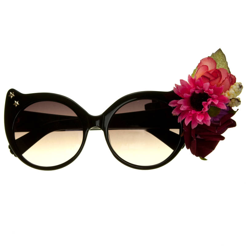 Irregular Choice midnight black sunnies