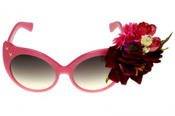 Irregular Choice pretty in blush pink sunnies
