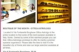 Kirk Originals in Ottica Astrologo Rome