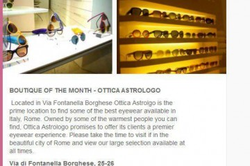 Kirk Originals in Ottica Astrologo Rome