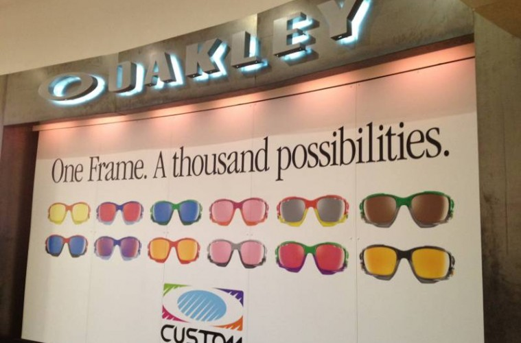 Oakley store in Bluewater