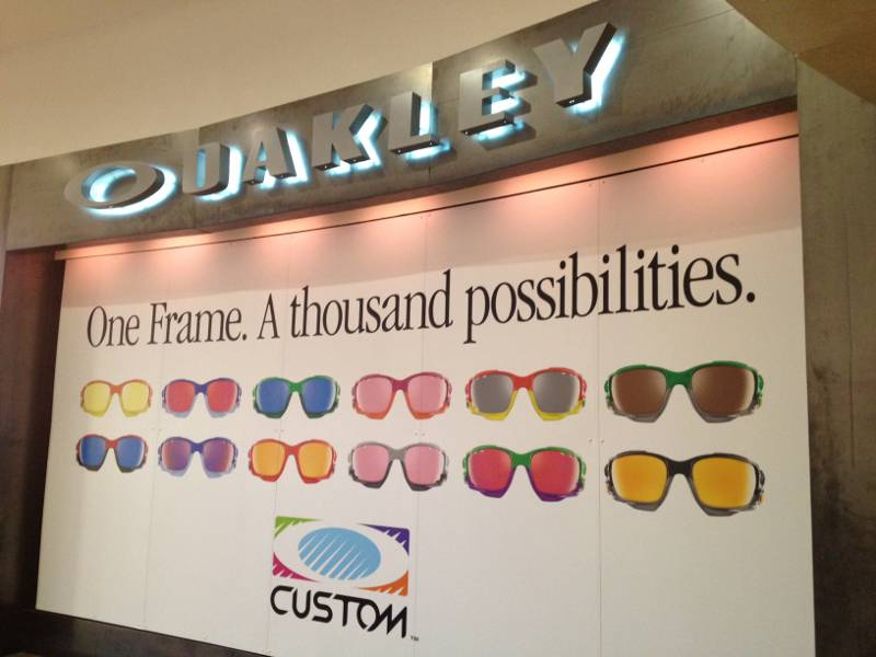 Oakley Eyewear store in Bluewater