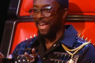 Will i am glasses the voice