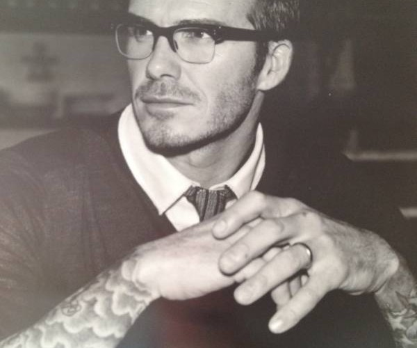 David Beckham 2012 calender picture in June
