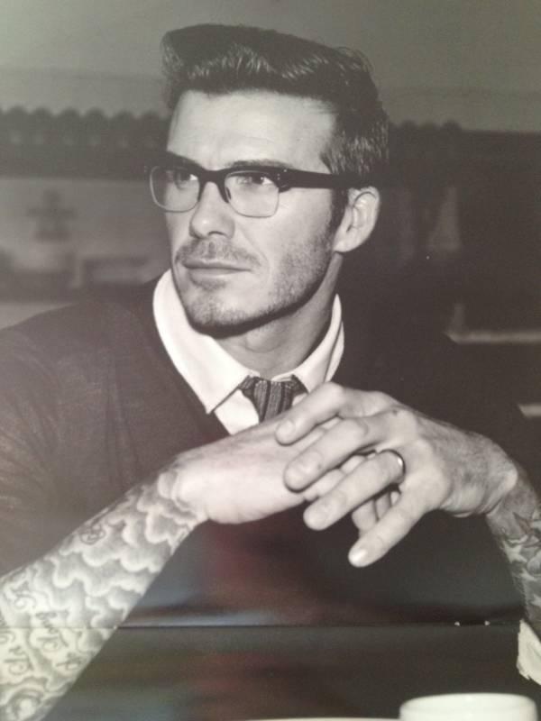 David Beckham 2012 calender picture in June