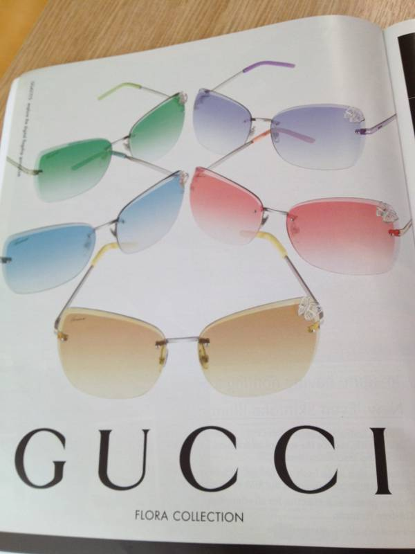 Gucci new pastel sunglasses