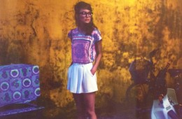 Look magazine Vintage flower girl photoshoot