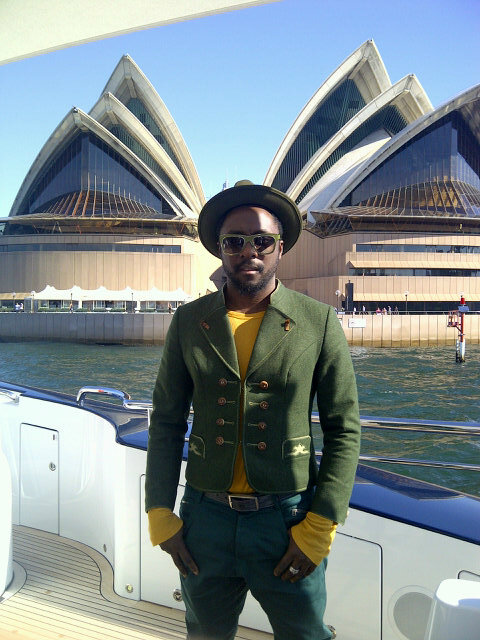 Will.i.am tweeter picture