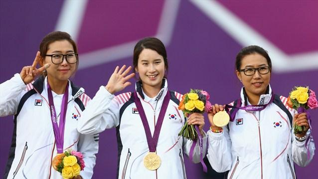 Olympic Women team Archery