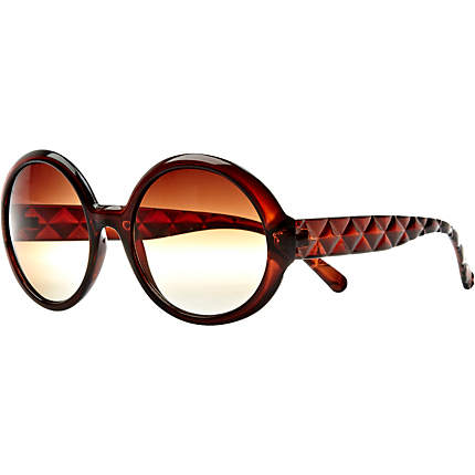 River Island Brown round sunglasses(image source-www.riverlsland.com)
