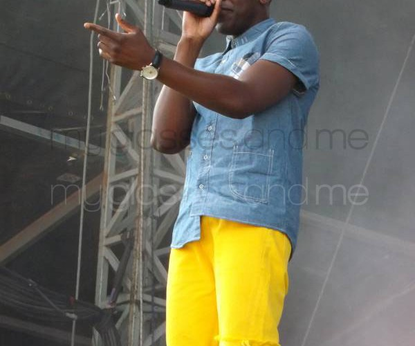Labrinth at V festival 2012