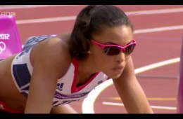 Women 110m Hurdle Louise Hazel