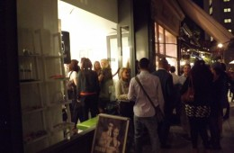 Culter and Gross end of London fashion week party