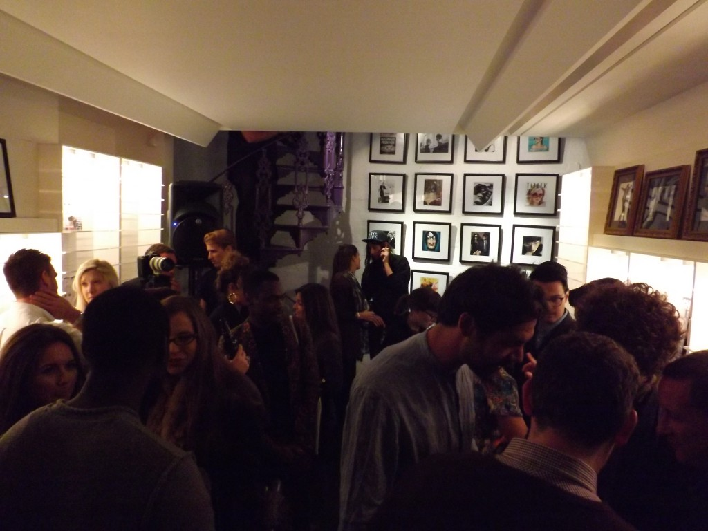 Cutler and Gross end of London Fashion week party