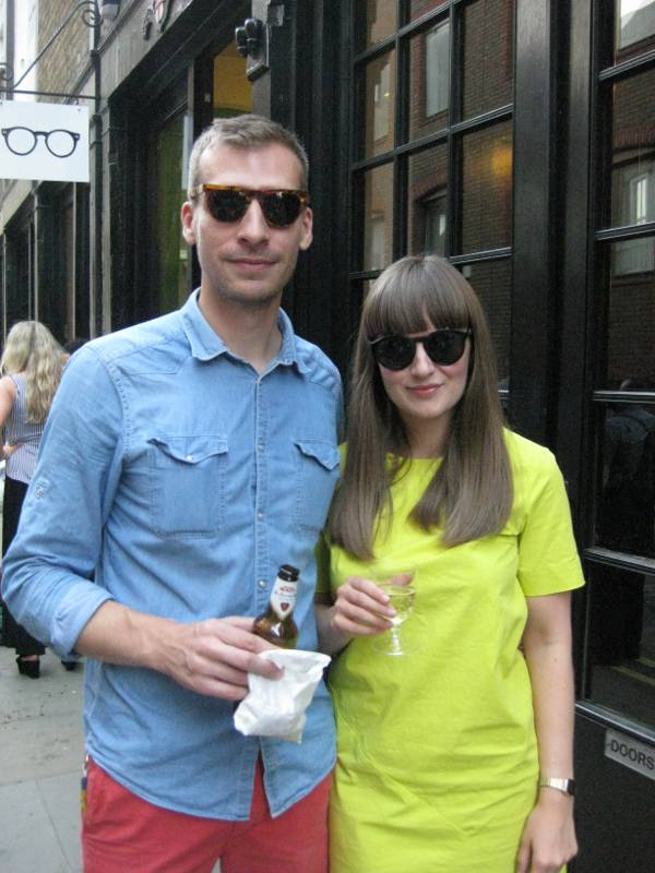Fan Designers Sarah Coburn and Guillaume Furminger