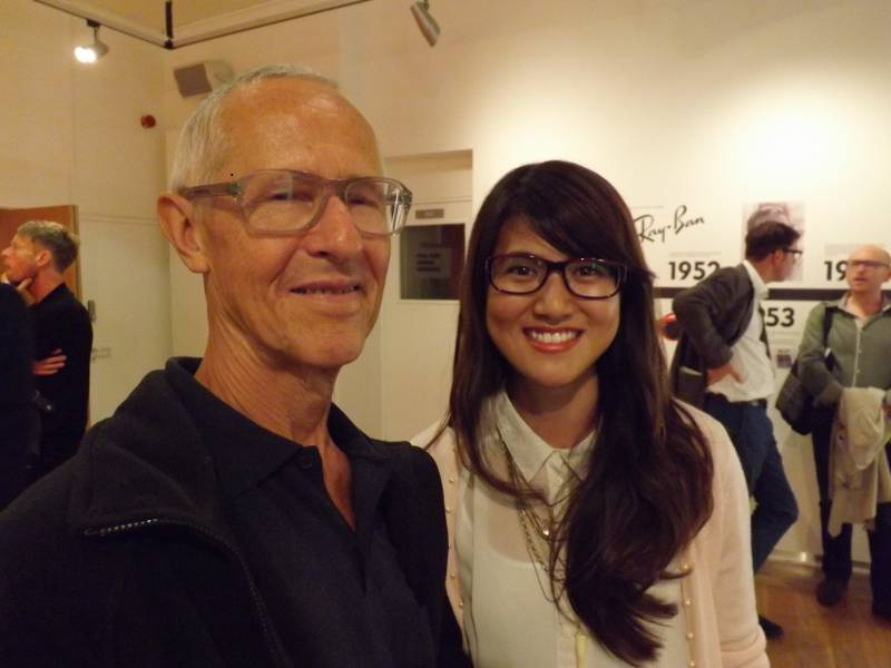 Me and Mr Cutler at FRAMED exhibition