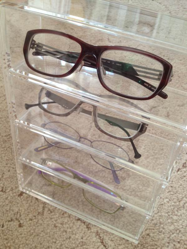 Muji glasses unit