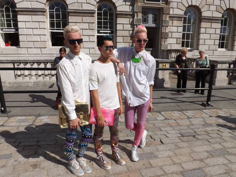 London Fashion Week - Plastic Boy Band