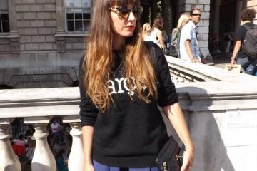 Prism sunglasses at London Fashion Week