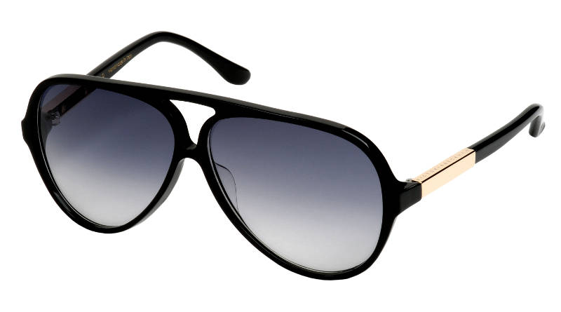 VB KEYHOLE AVIATOR SMALL BLACK VB0203
