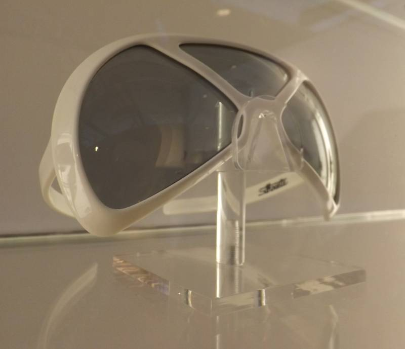 White Silhouette sunglasses from FRAMED exhibition