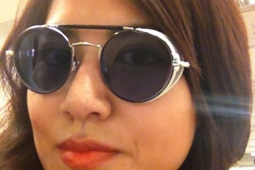 Me in Thom Browne Eyewear