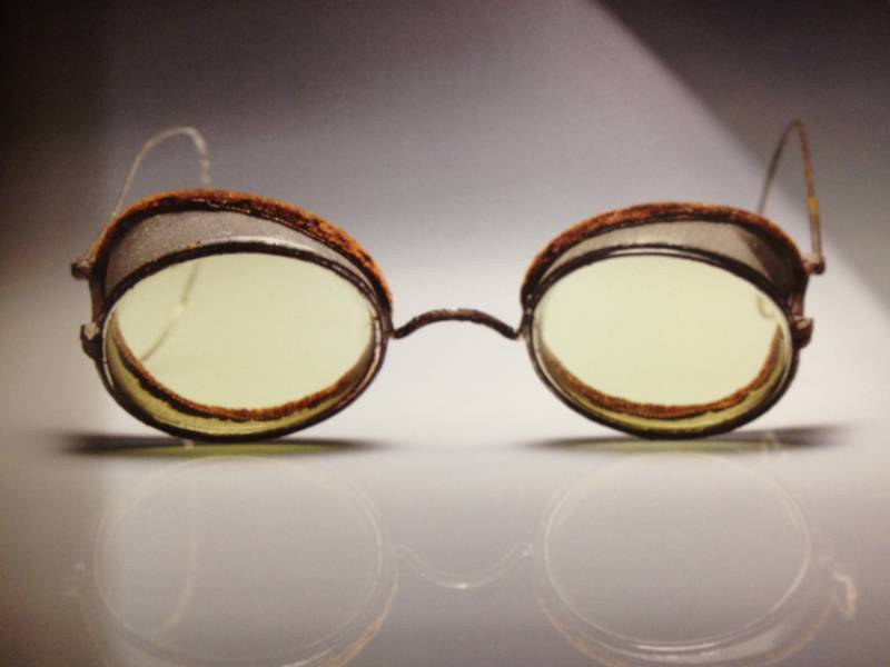 Protective eyewear from the 1900