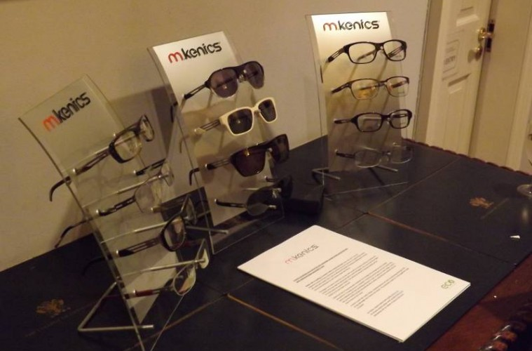 m.kenics at Fashion Spectacles, Spectacular Fashion book launch