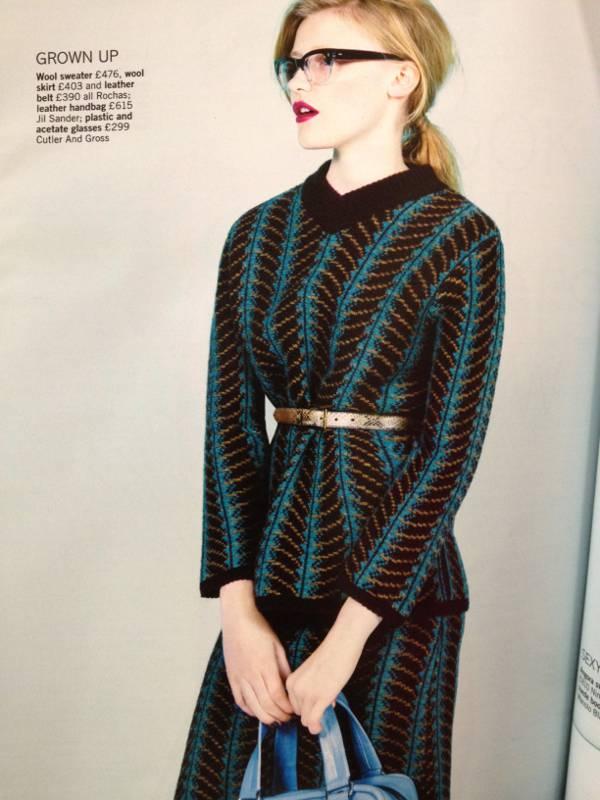 Glamour magazine December issue