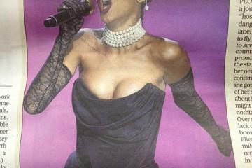 Rihanna Secret gig