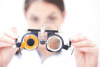 Eye test glasses (source from www.123rf.com)