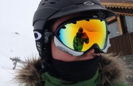 Mark's Oakley Ski googles