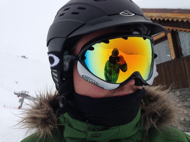Mark's Oakley Ski googles
