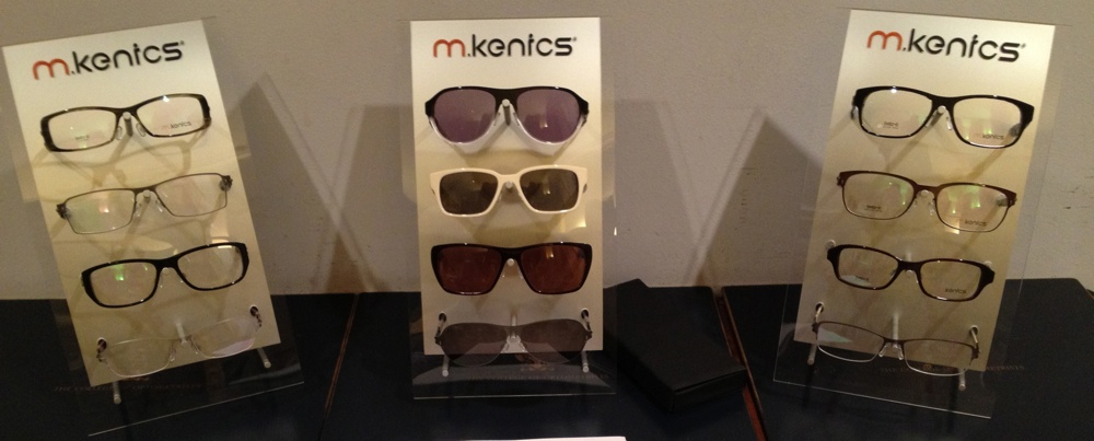 Prescription glasses and sunglasses by m-kenics
