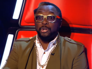 Wil-i-am Glasses The Voice series 2