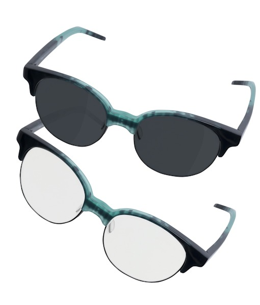 Transitions lenses Orgreen Drummer blue
